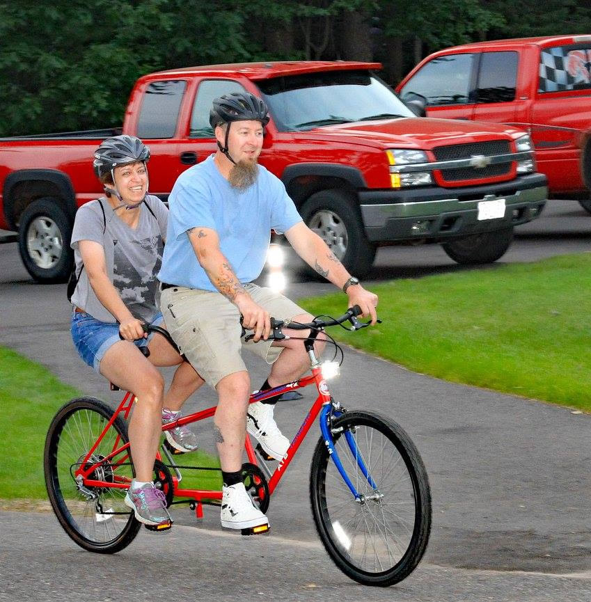 tandem-bike-manitowish-waters